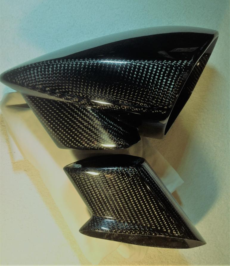 DMC Carbon Fiber Side Mirrors (pair)-dmc-mirror-jpg