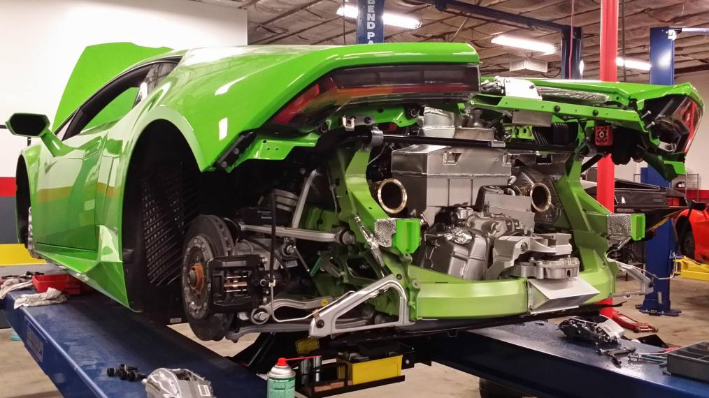 The Famous Autosports SEMA 2015 Huracan build is here!-famous_huracan_in_process-jpg