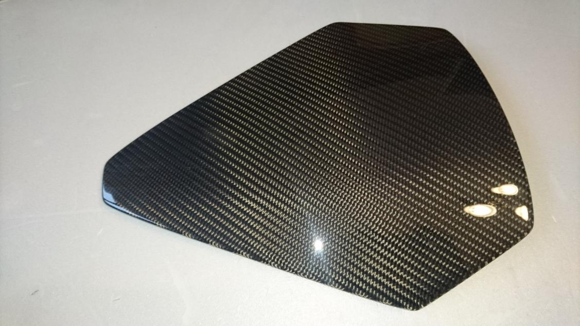 Instrument Cluster Cover in Carbon Fiber-cluster-jpg