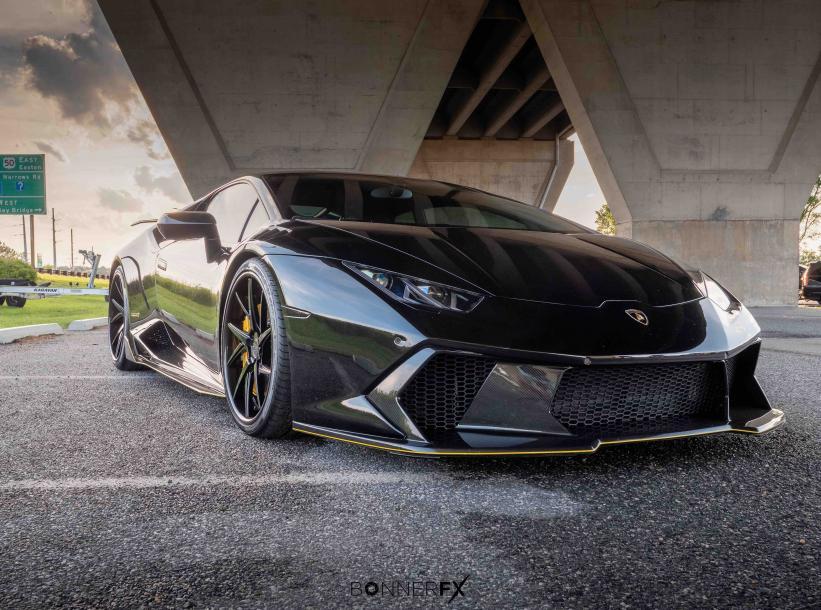 2016 LP610-4 For Sale  (VF Supercharger, Full Vorsteiner Novaro Kit, + much more)-front-jpg